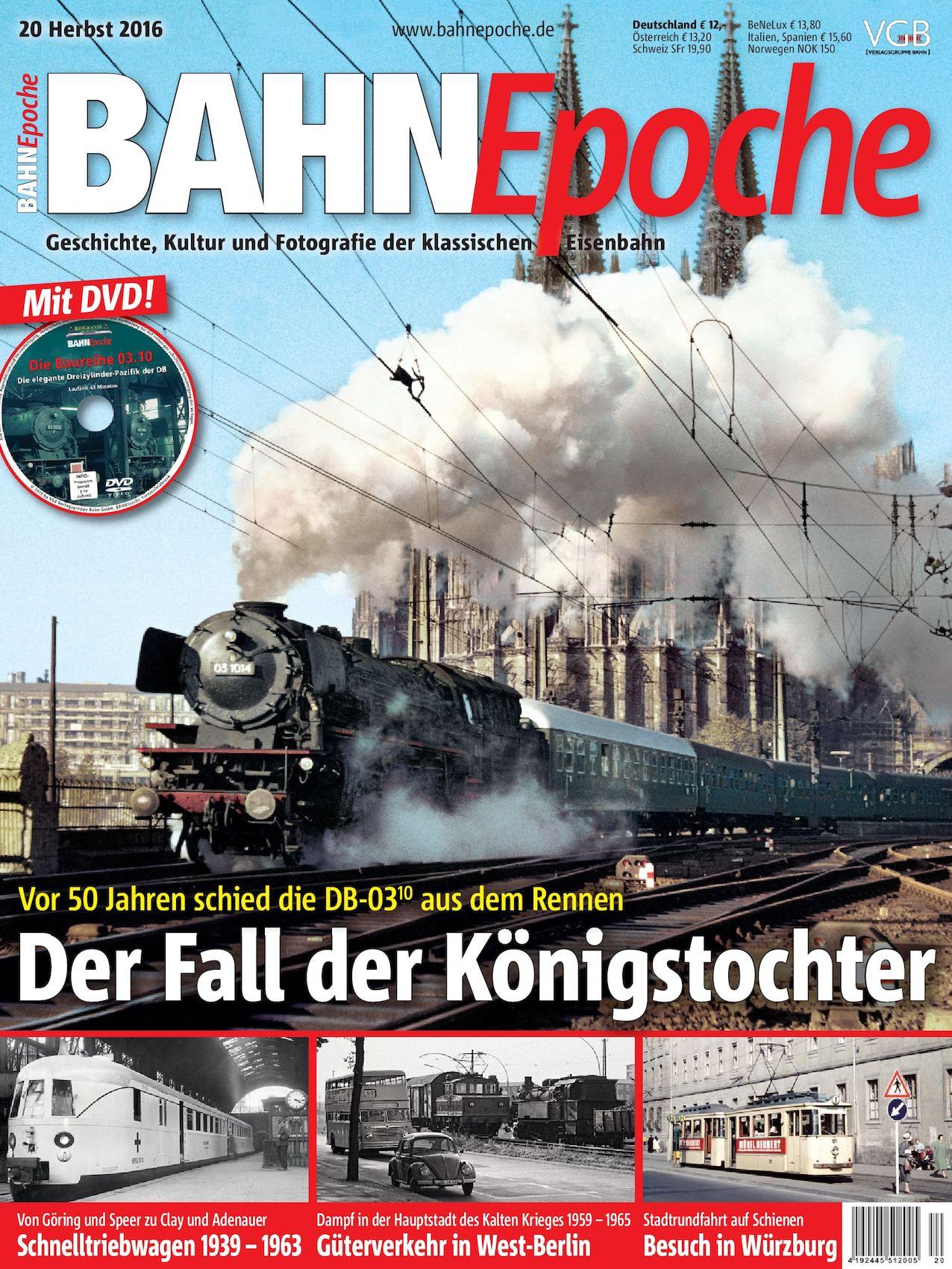 Calaméo - BAHNEpoche – Ausgabe 20 – Herbst 2016