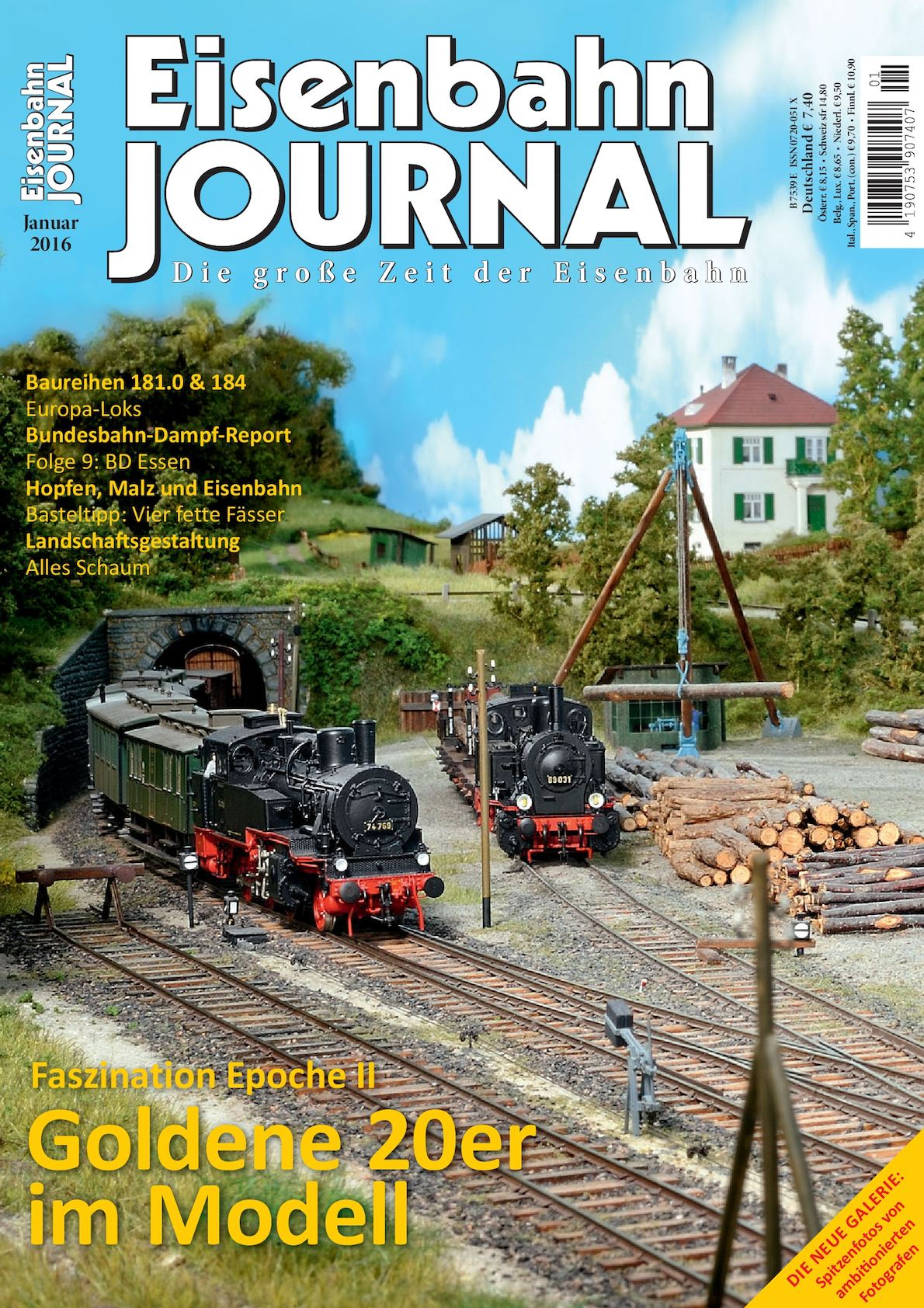 Calaméo - Eisenbahn Journal 01 2016