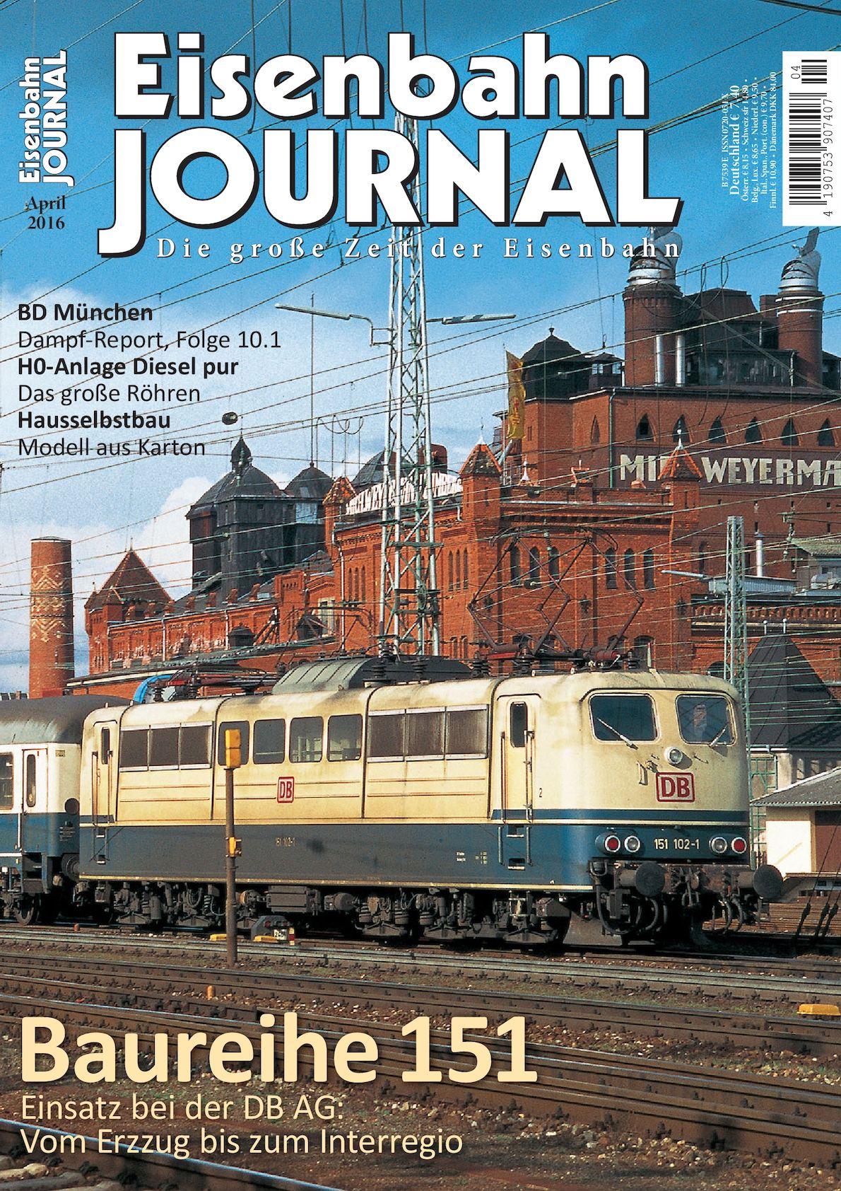 Calaméo - Eisenbahn Journal 04 2016