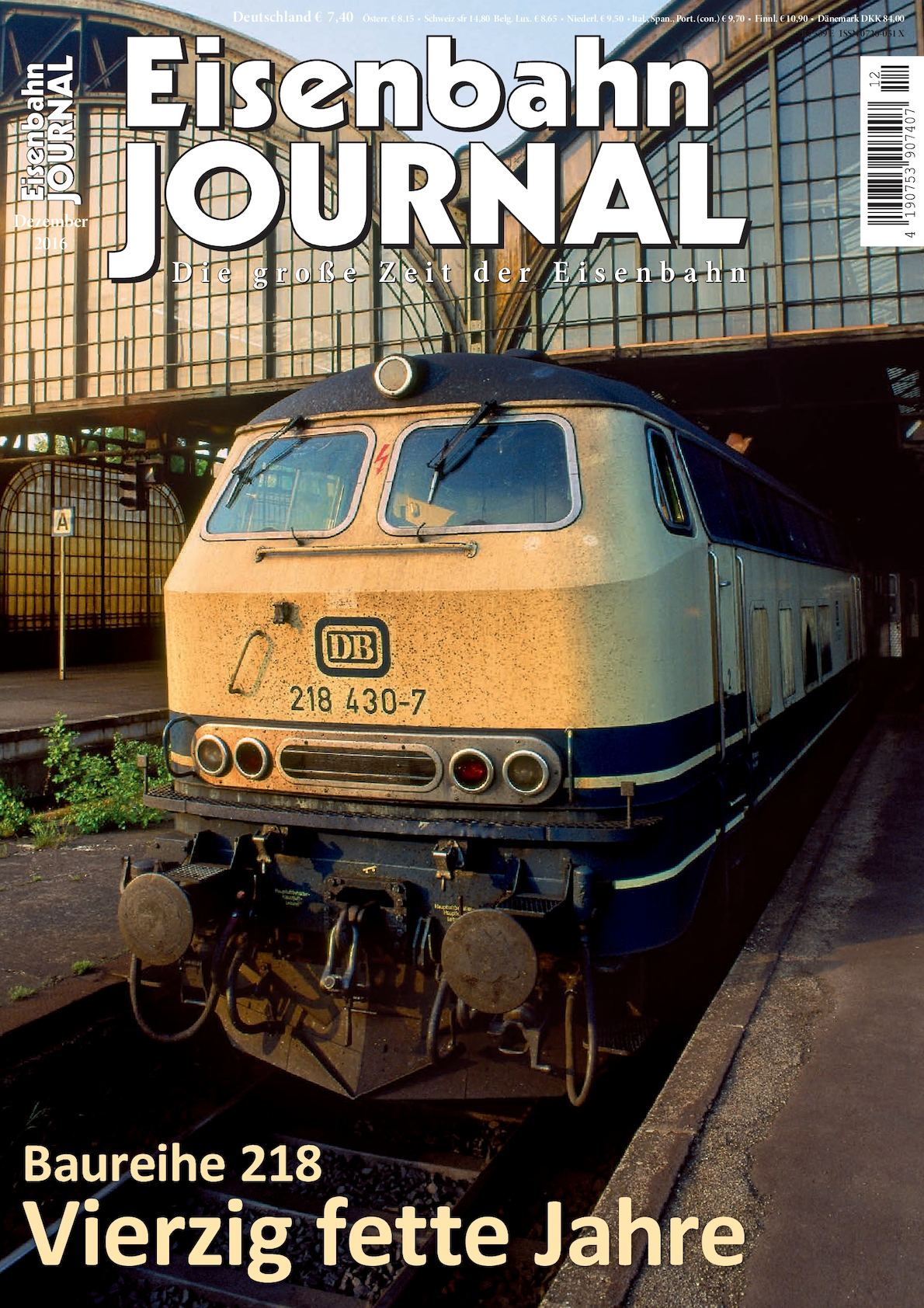Calaméo - Eisenbahn Journal 12 2016