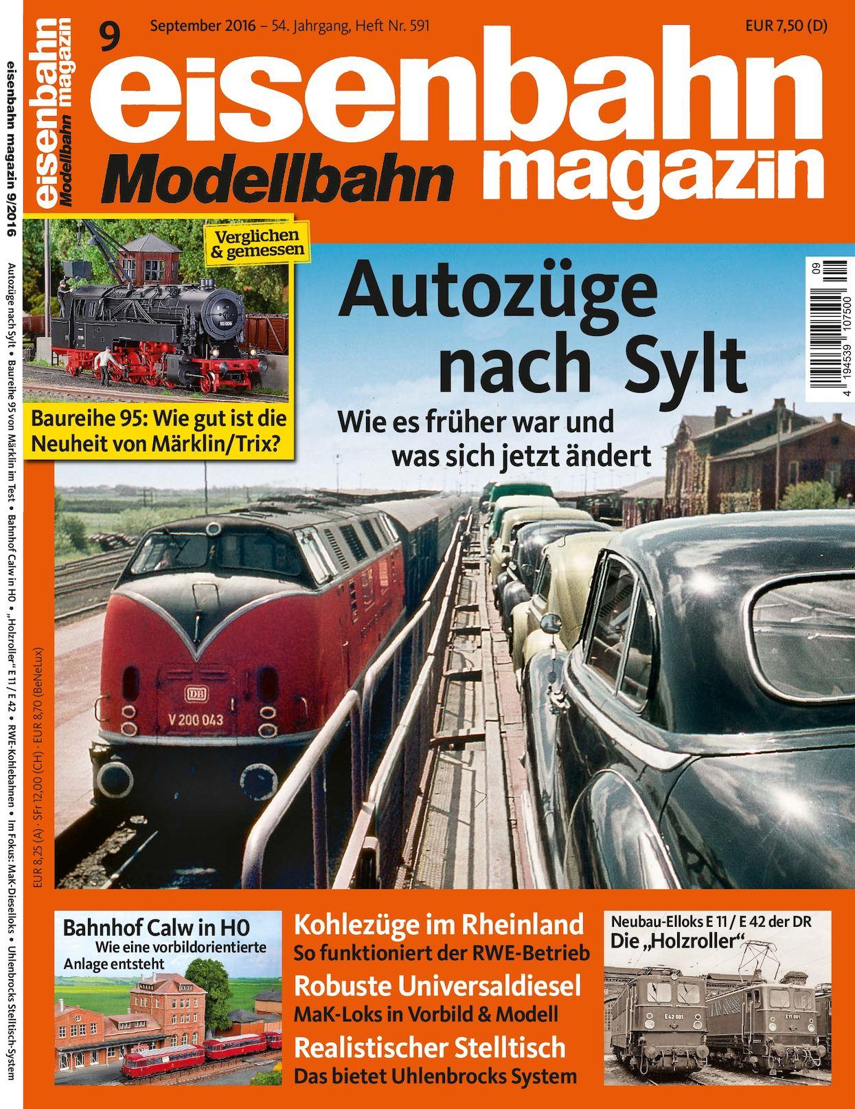 Calaméo - Eisenbahn Modellbahn Magazin 09 2016