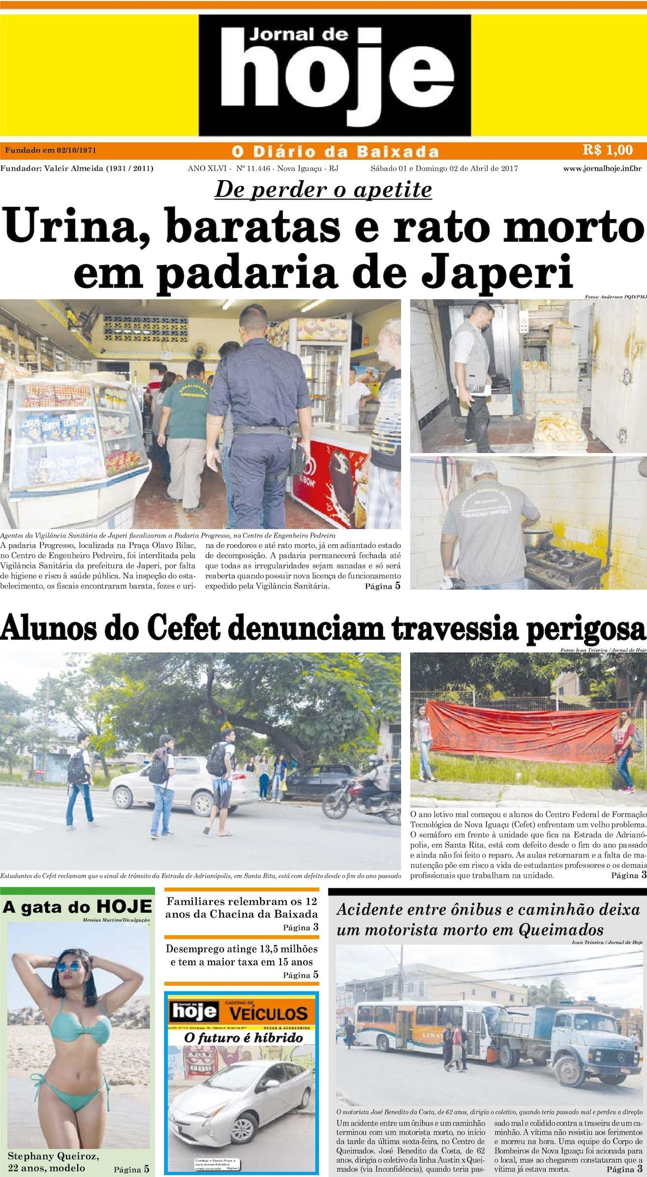 Jornal De Hoje PDF