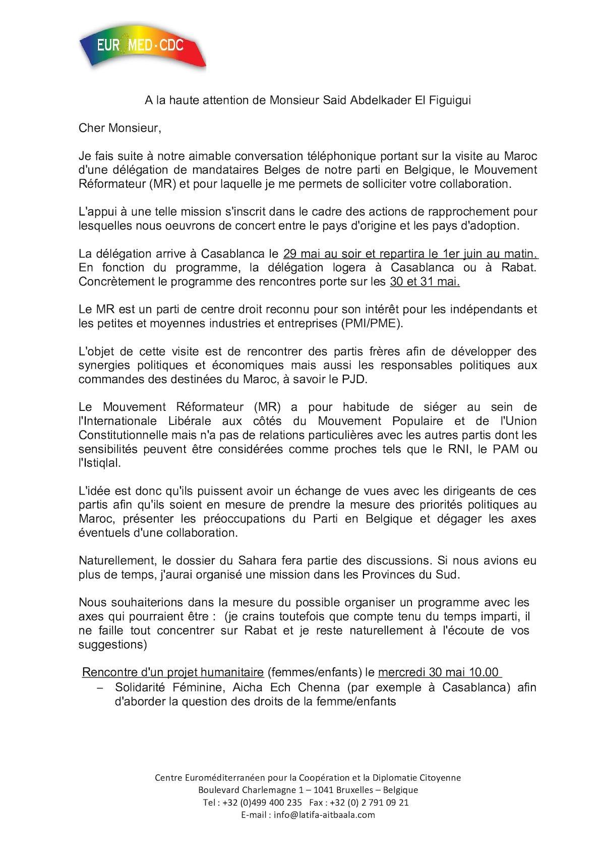 Lette Said El Figuigui Mr Mai 2012