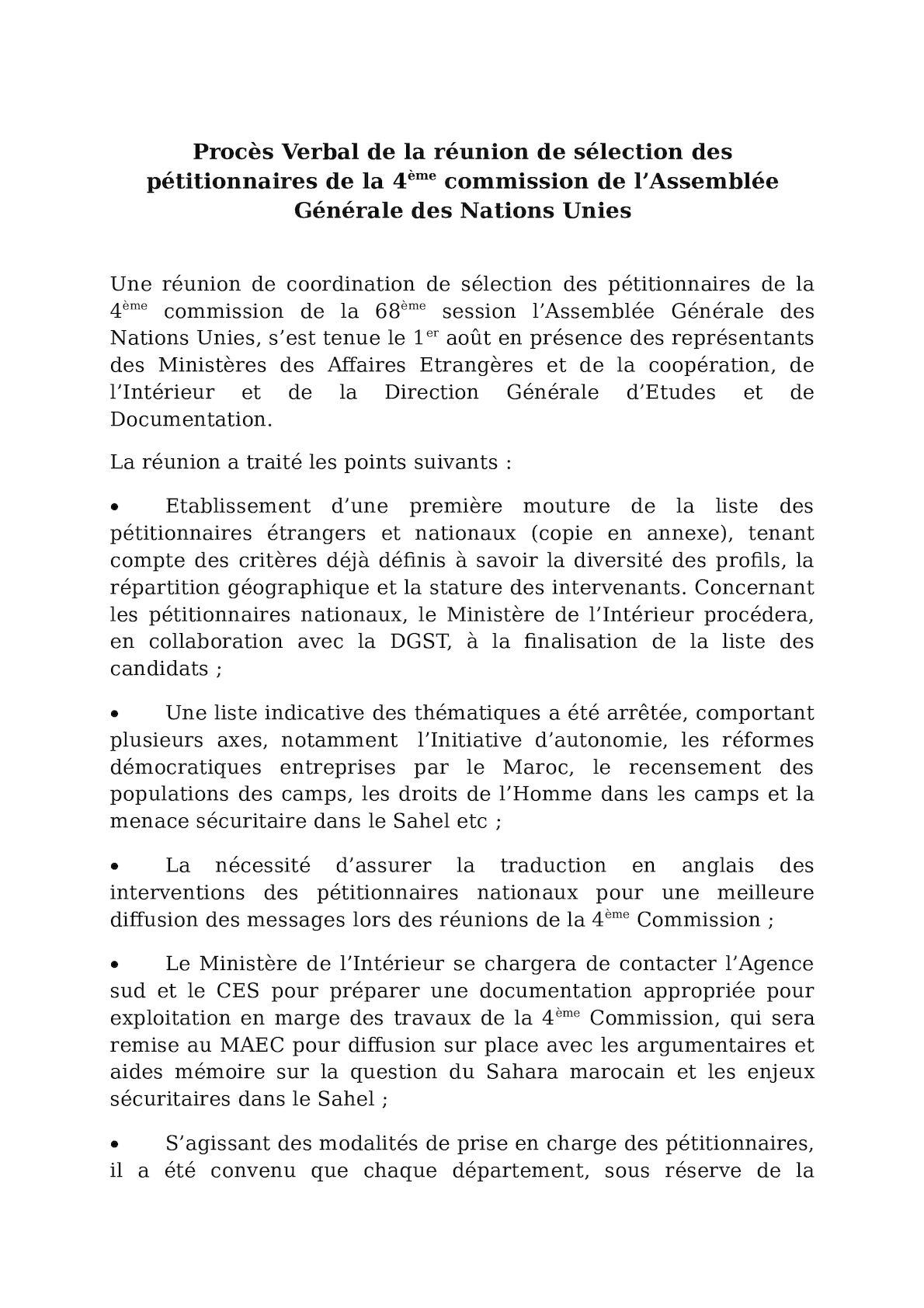 Pv Réunion Pétitionnaires 1