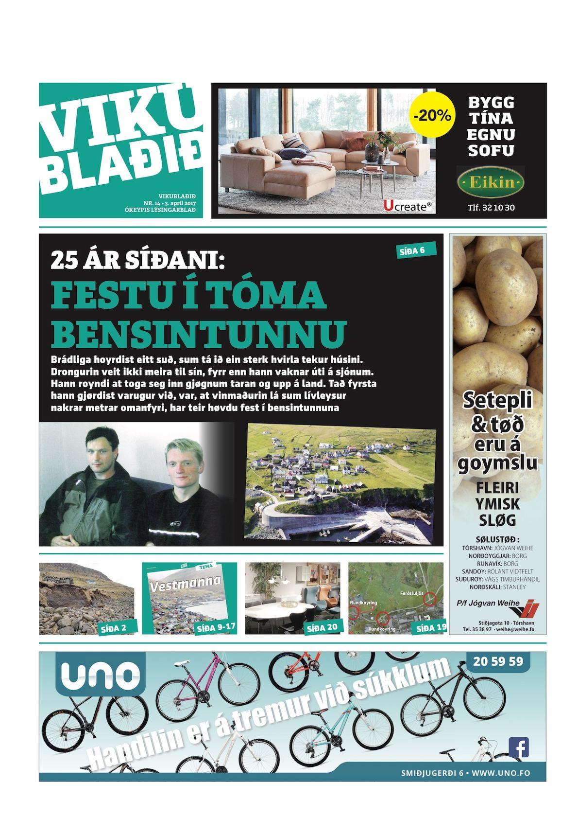 Vikublaðið 3. apr. 2017