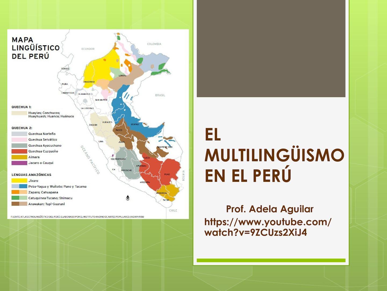 Multilingüismo en el Perú
