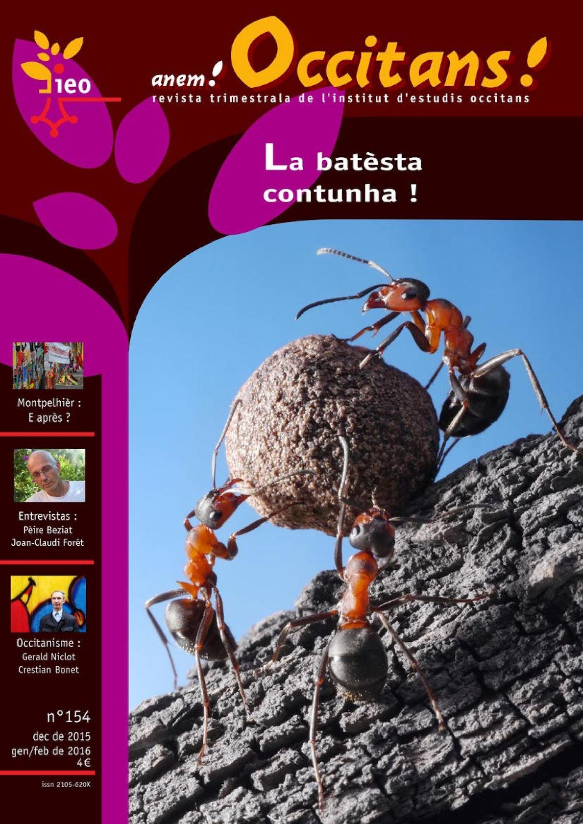 Anem Occitans N°154, la revue de l'IEO