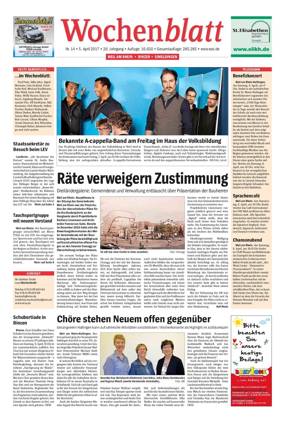 Calaméo - Wochenblatt-Weil