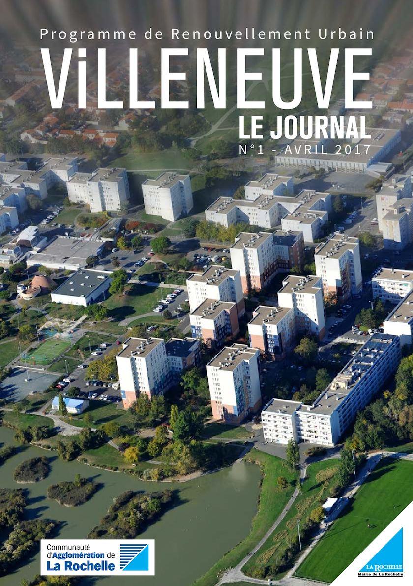 Journal PRU # 1 - Programme de Renouvellement Urbain Villeneuve-les-Salines | Avril 2017
