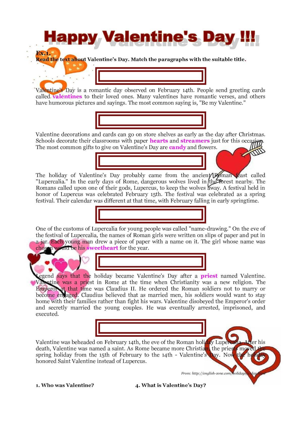 Calaméo Valentines Day History