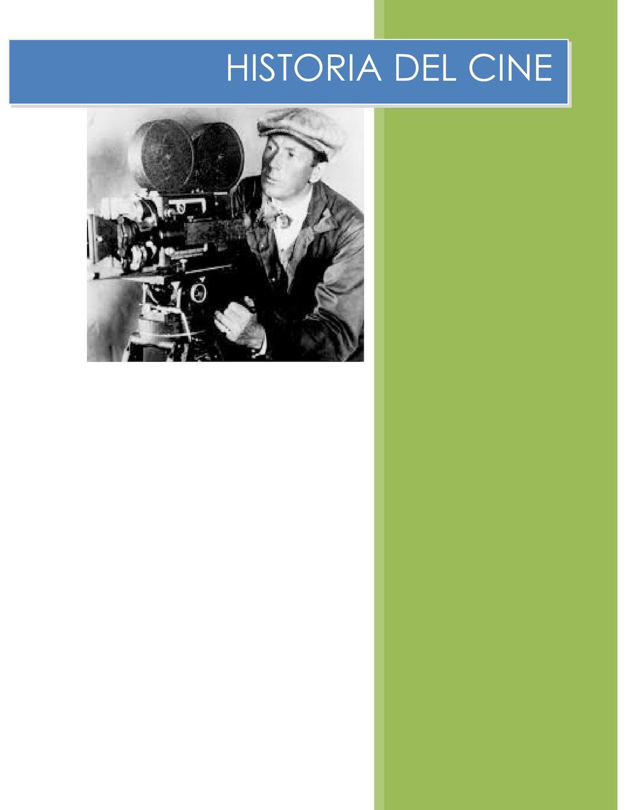 Historia Y Origen Del Cine