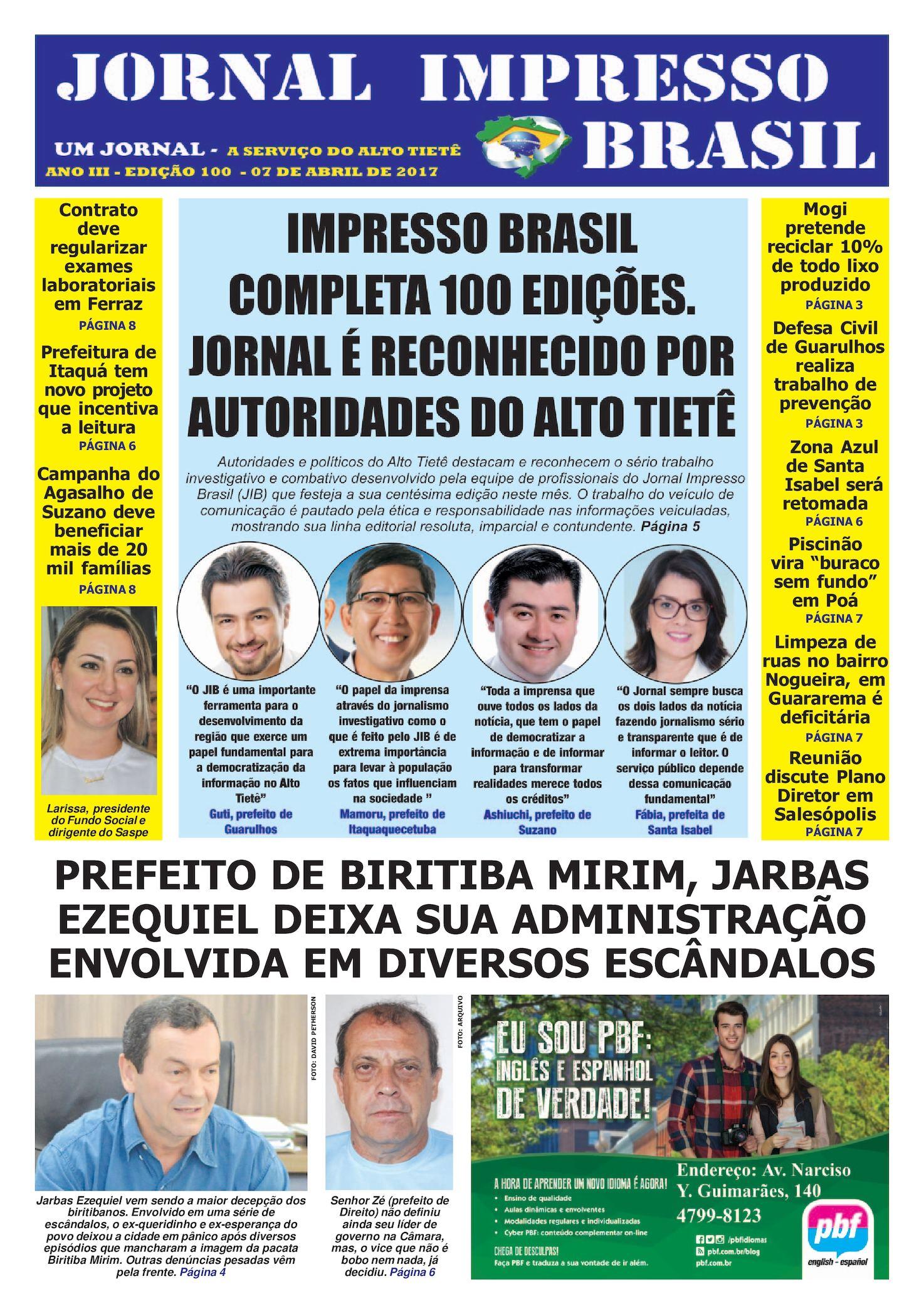JIB EDIÇÃO 100