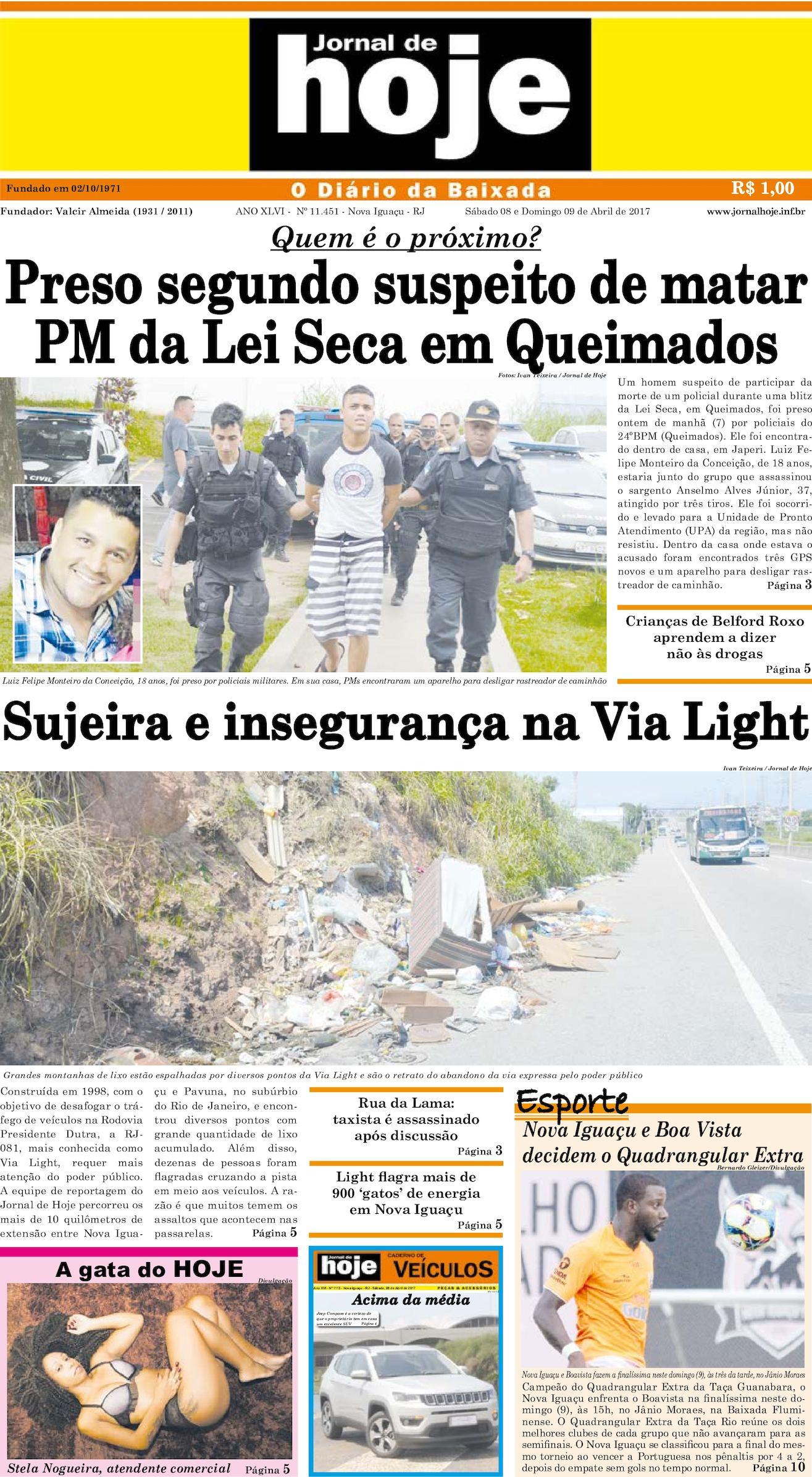 Jornal De Hoje 080417
