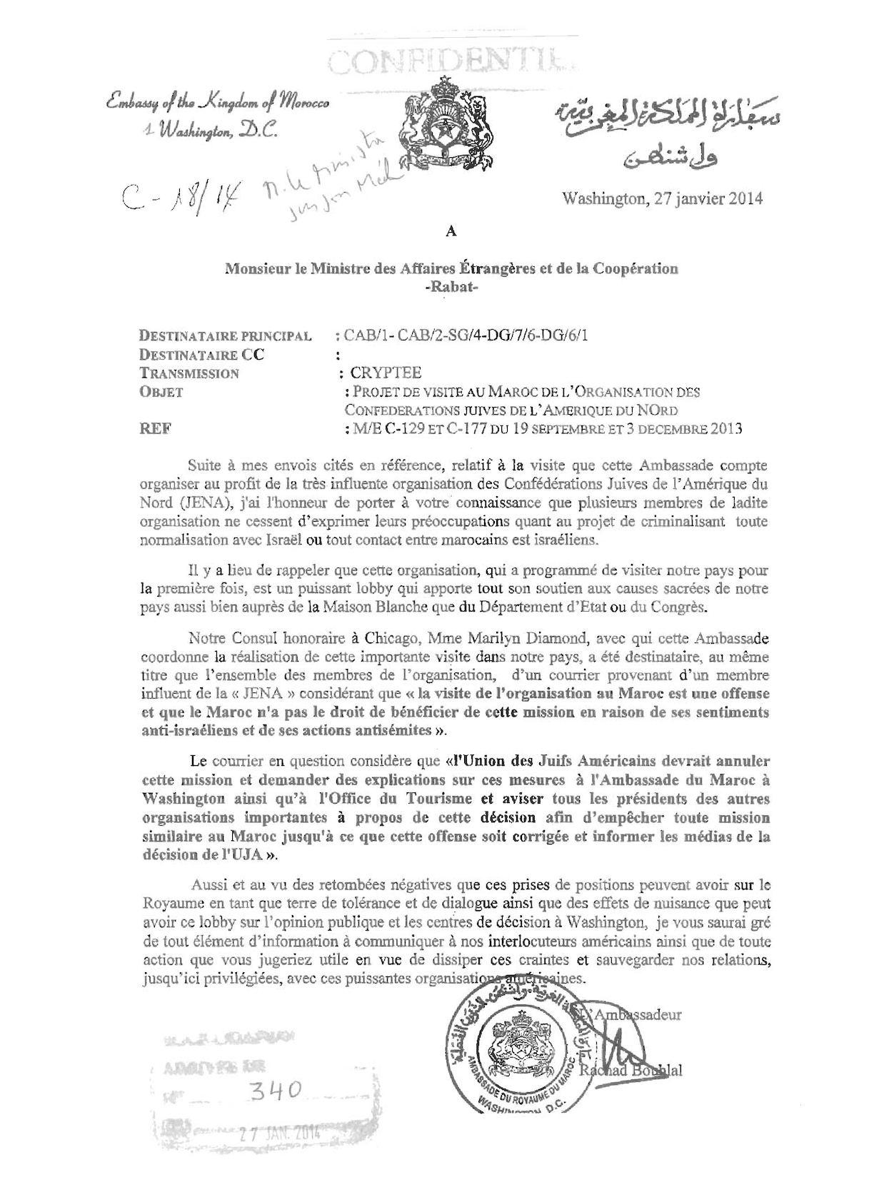 Ambassade Du Royaume Du Maroc à Washington
