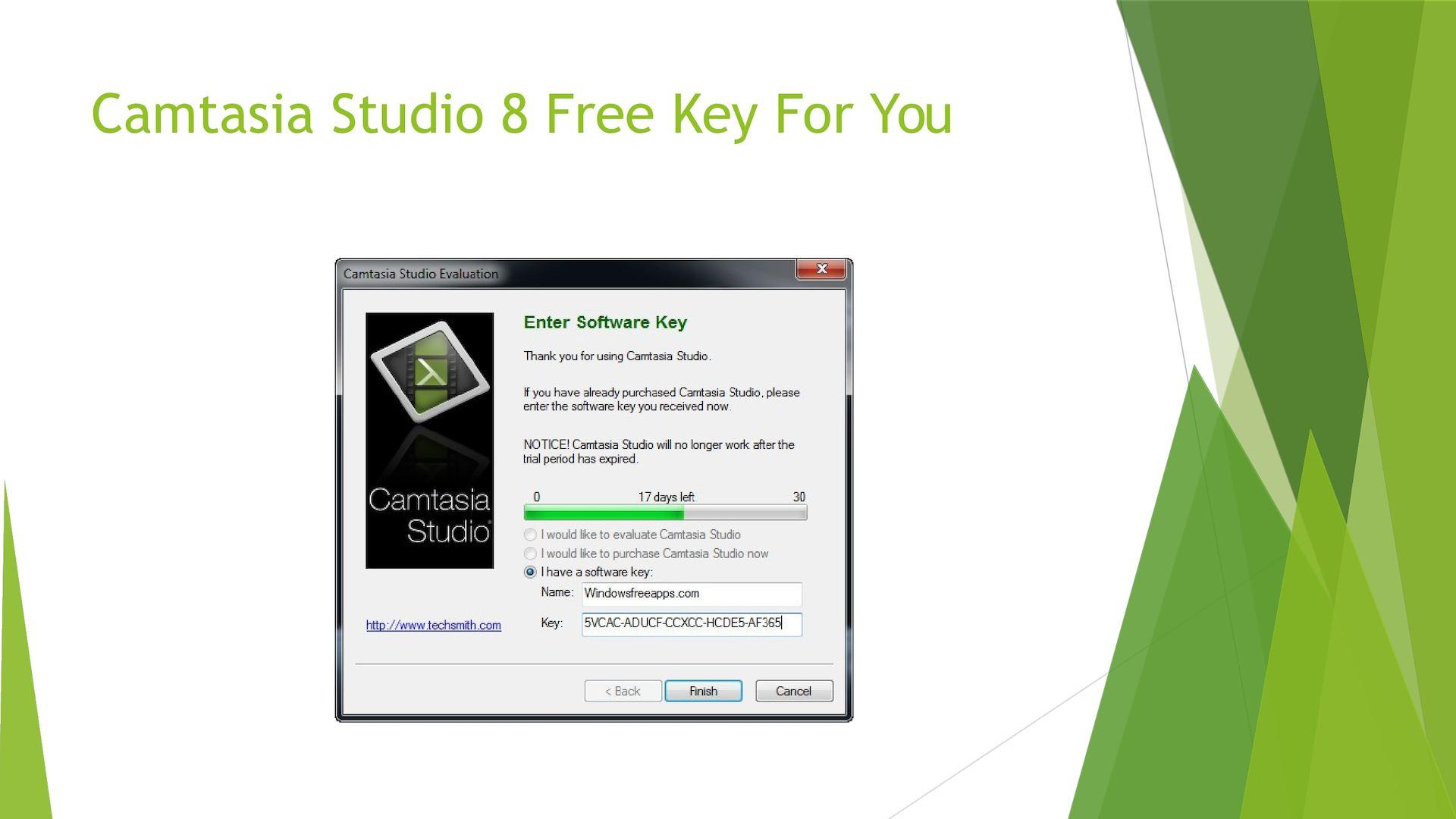 Camtasia Studio 8 Serial Key