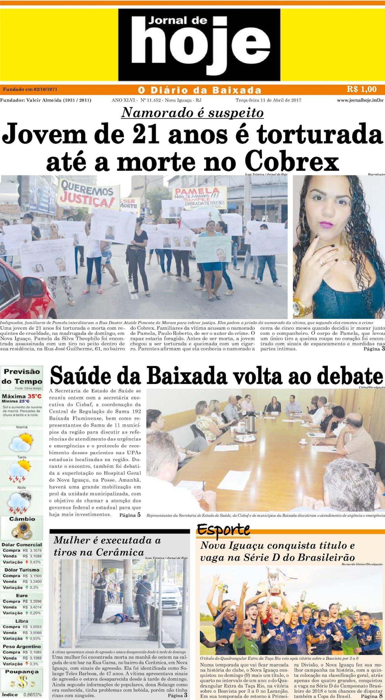 Jornal De Hoje 110717