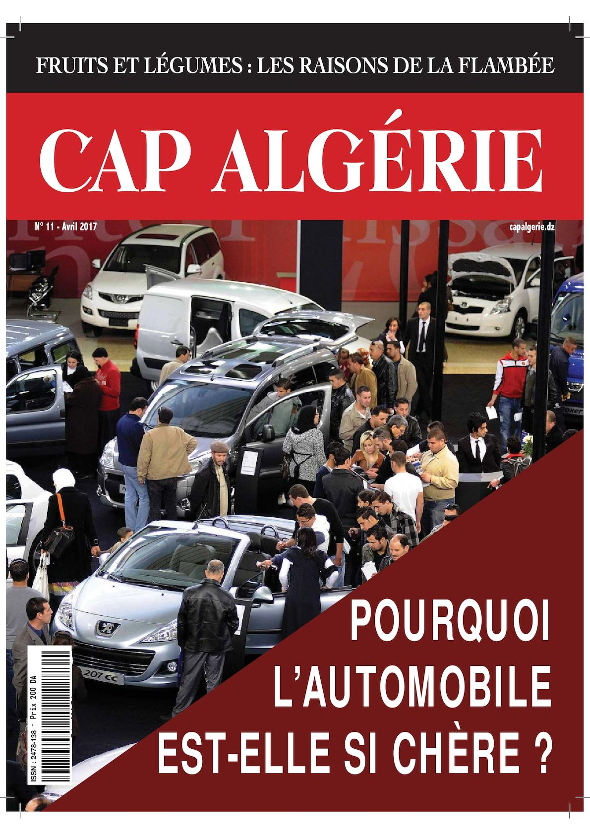 Cap Algérie Avril 2017