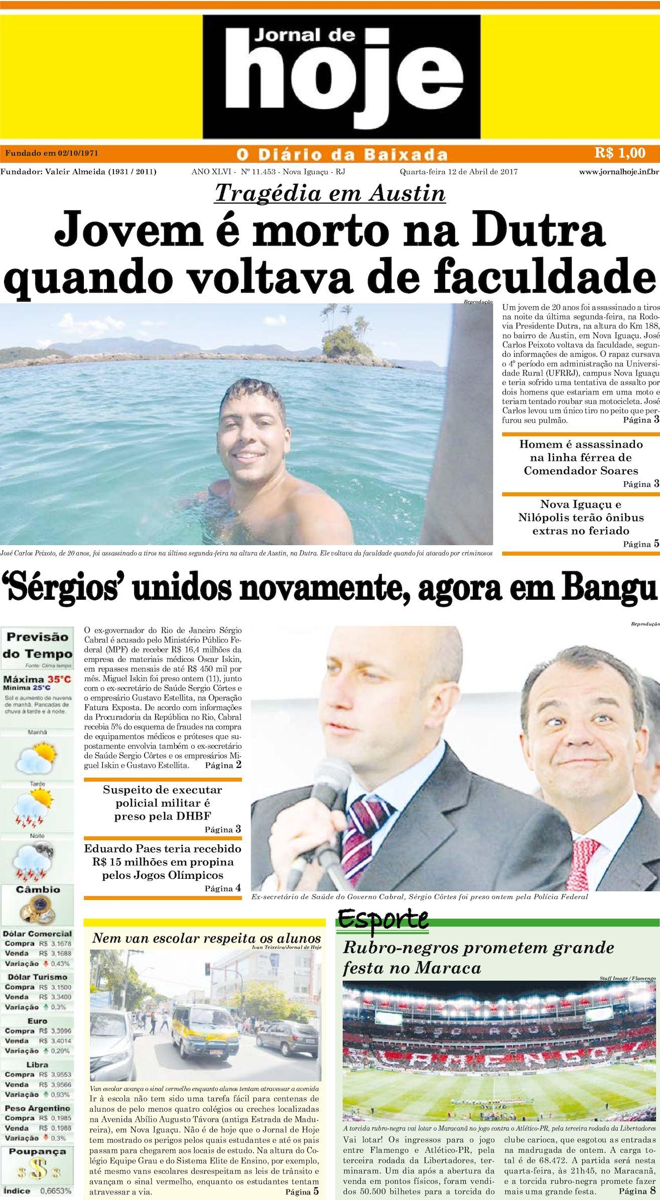 Jornal De Hoje 120417