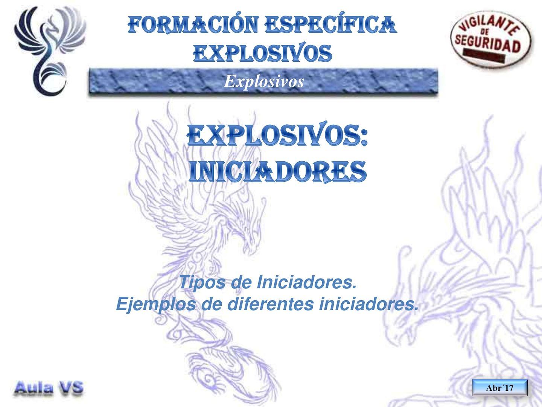 EXP.40 - Iniciadores