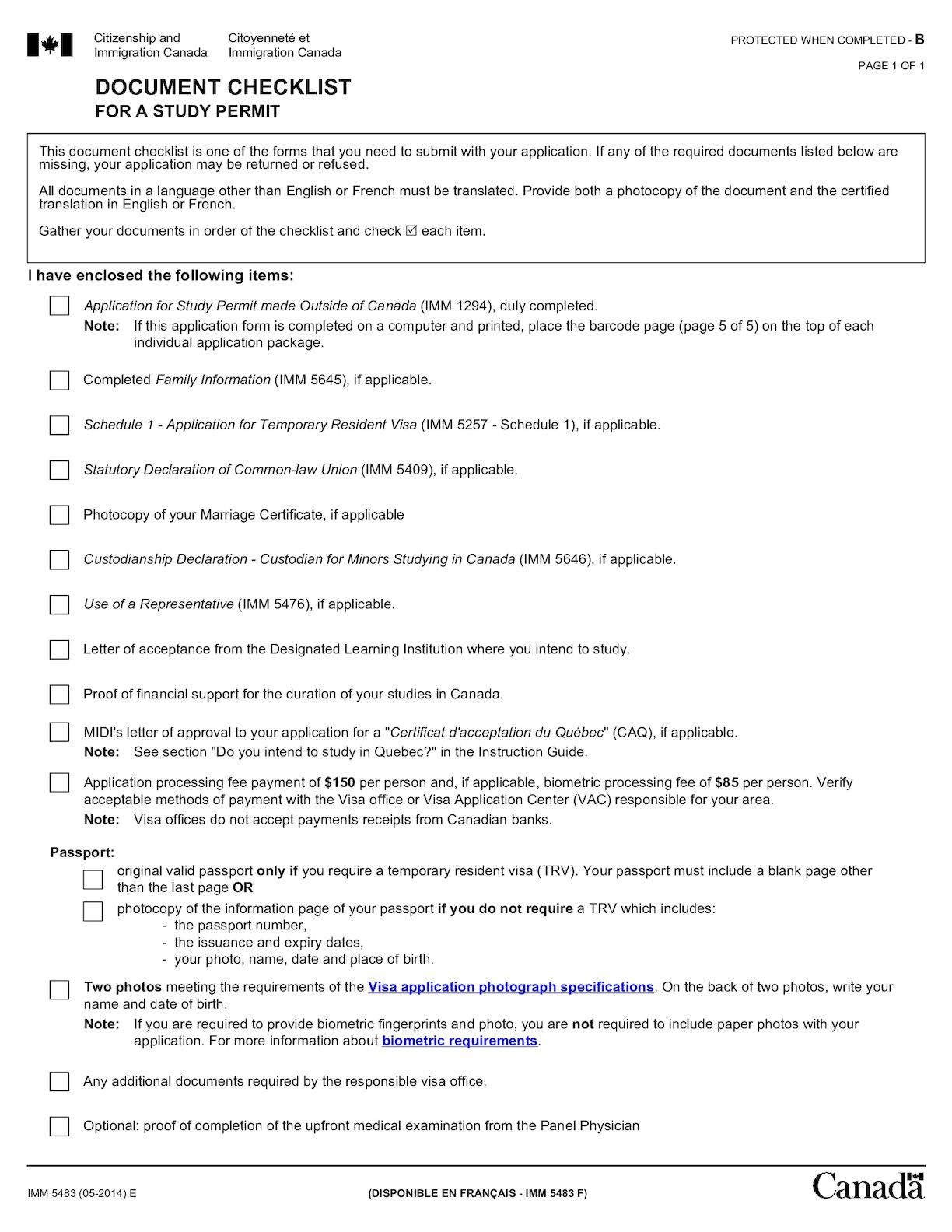 Calameo document checklist for Documents for apply citizenship