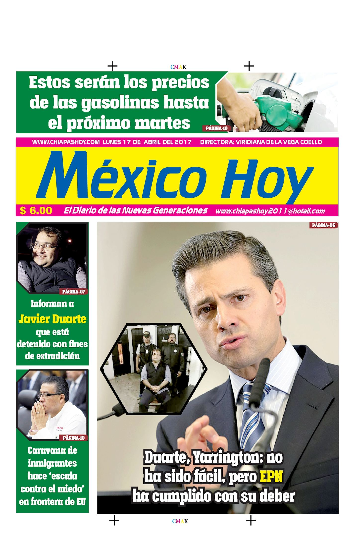 MEXICO 17 DE ABRIL