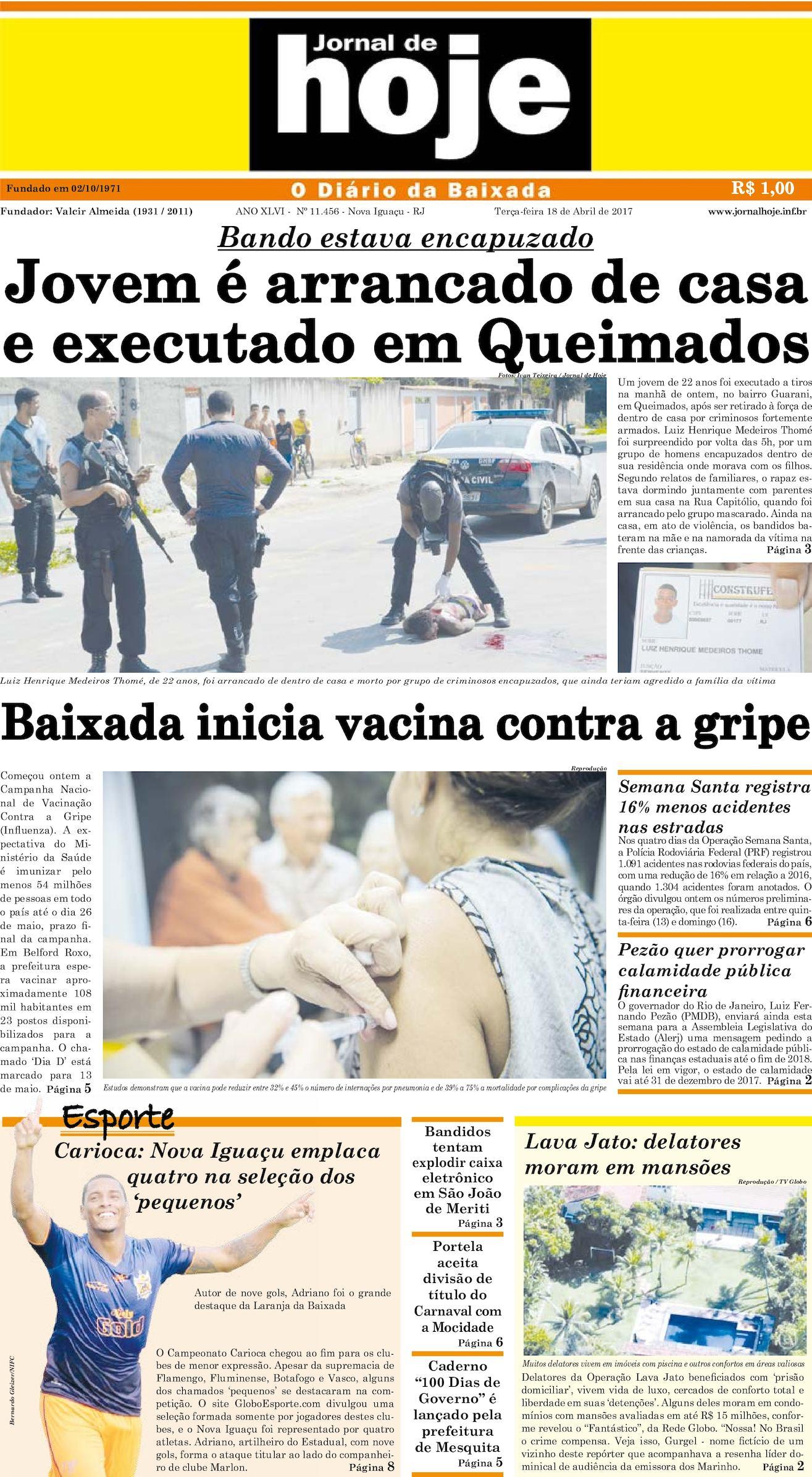Jornal De Hoje 180417