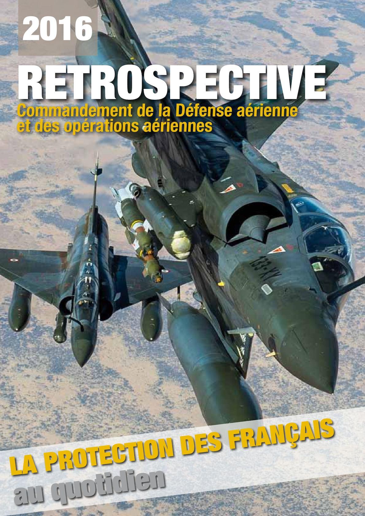 Rétrospective des opérations aériennes 2016