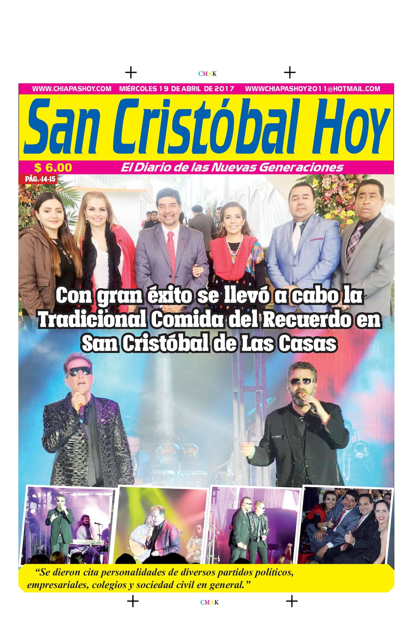 SAN CRISTOBAL 19 DE ABRIL
