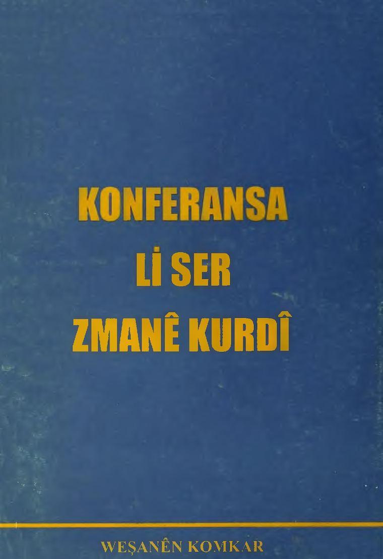 Konferansa Li Ser Zimanê Kurdî.