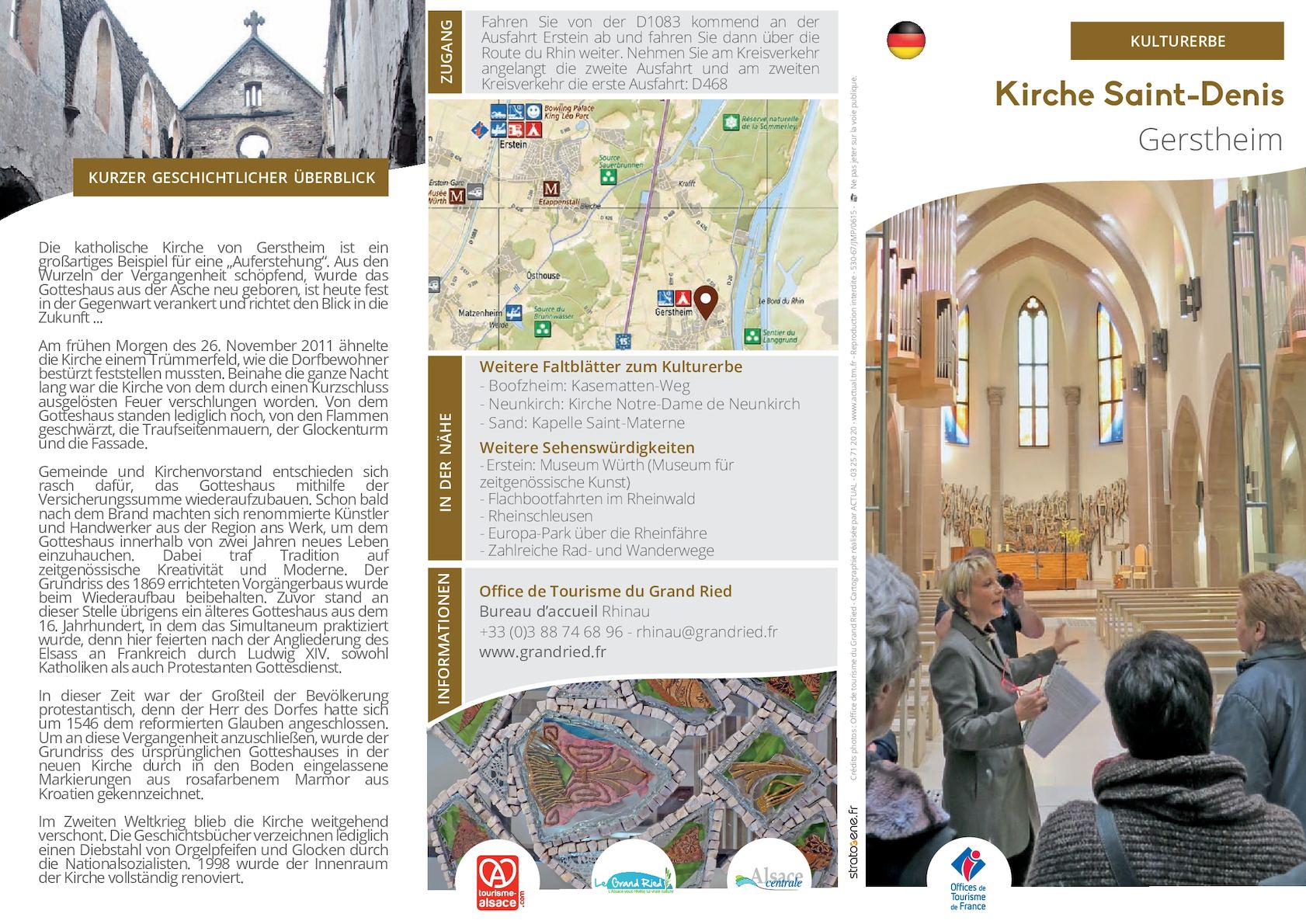 Bureau Moderne Gers : Calaméo deutsch kirche saint denis gerstheim
