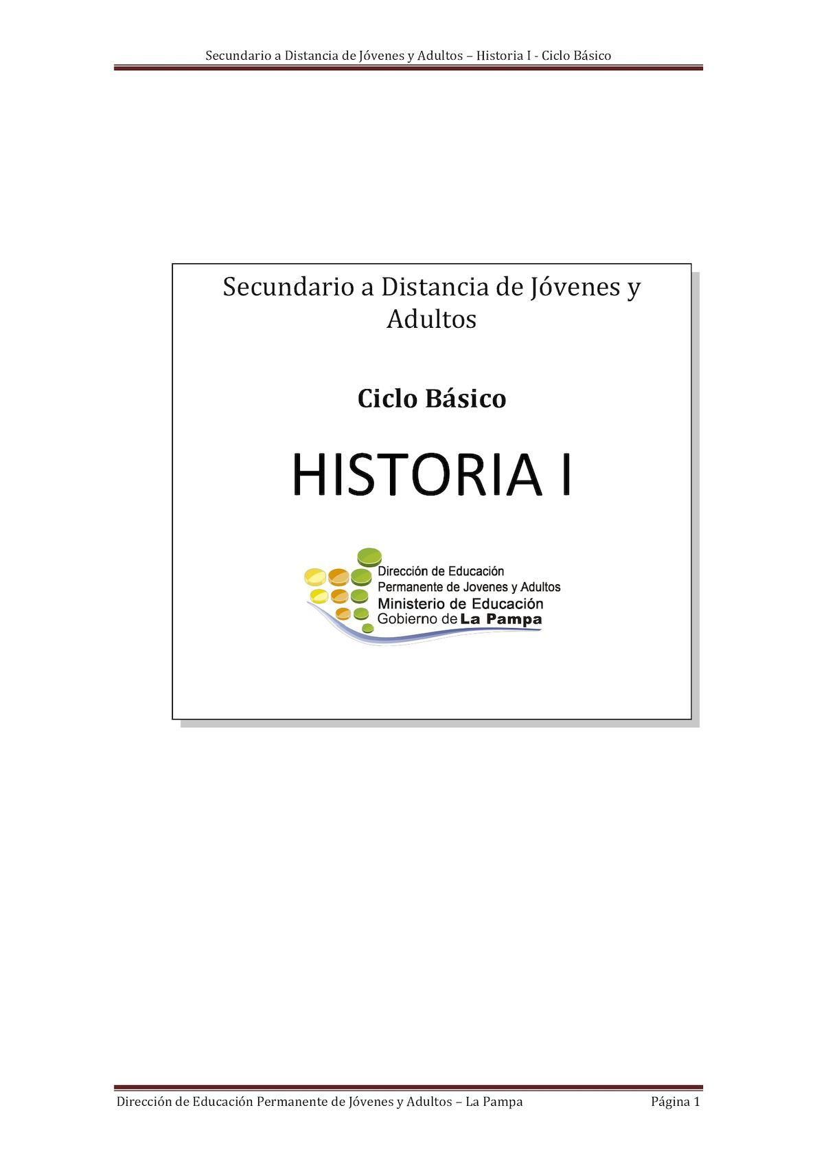 Calaméo - Módulo Historia I Cb 2017
