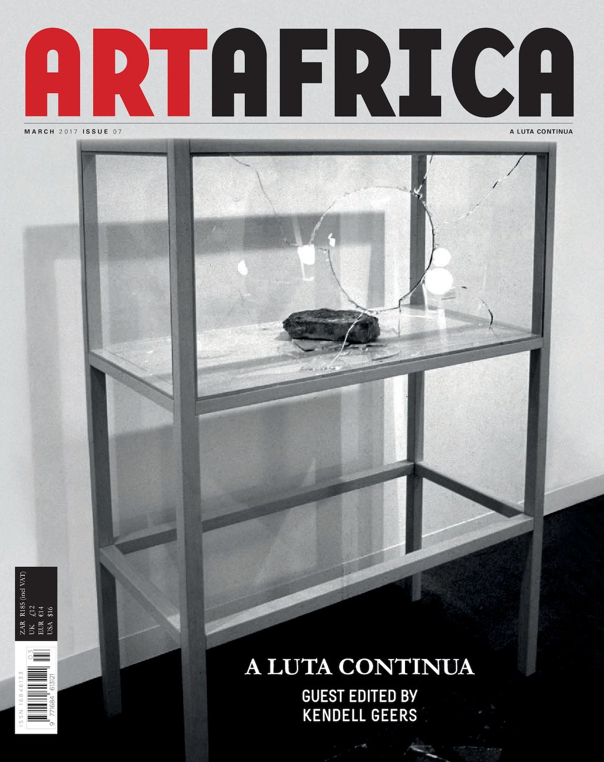 Calamo A Luta Continua Art Africa Issue 07 June 2012 Electronic Components Microchips Wood Frame 120x120 Cm