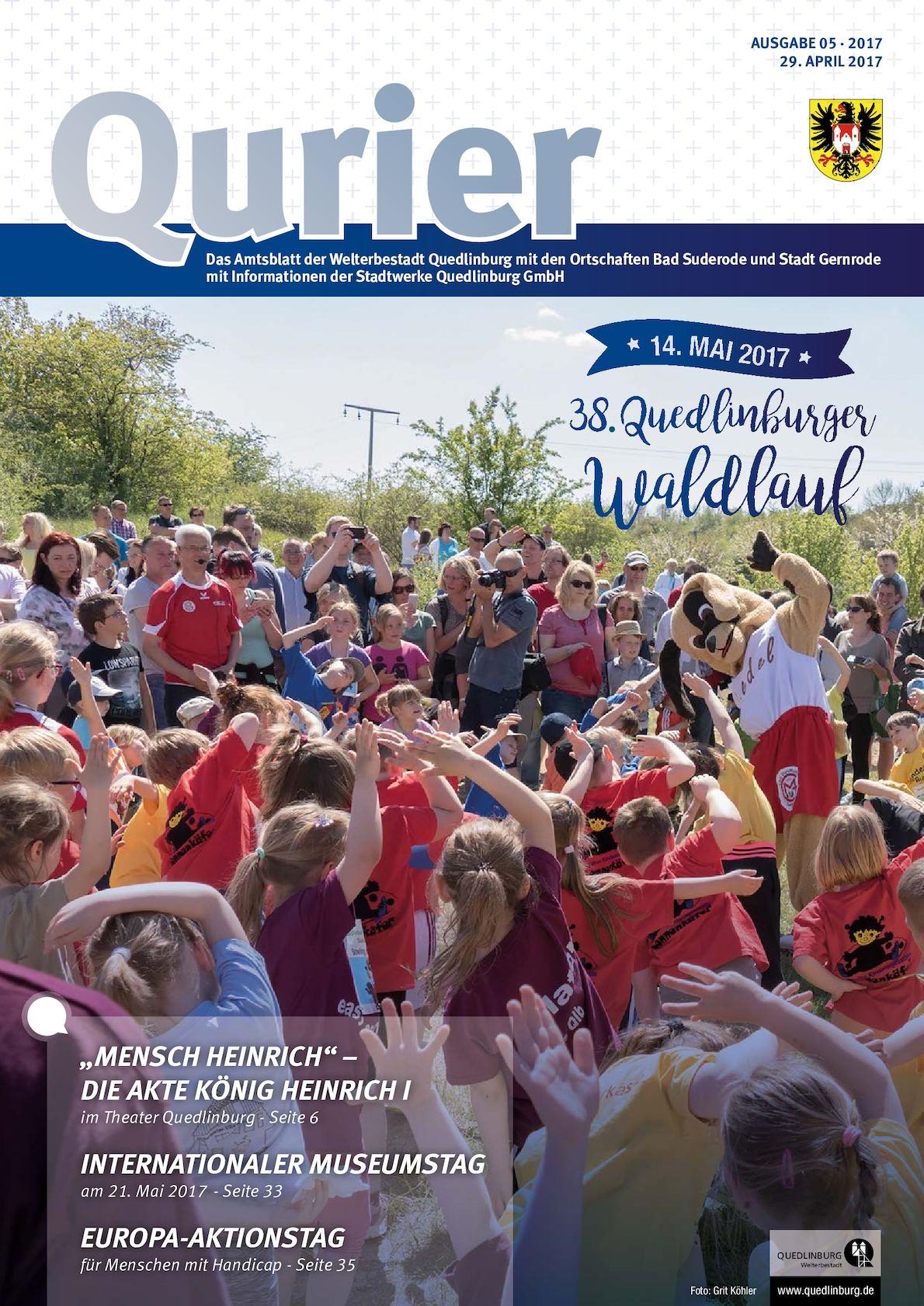 Calaméo - Qurier 05/2017 vom 29.04.2017 - Das Amtsblatt der ...