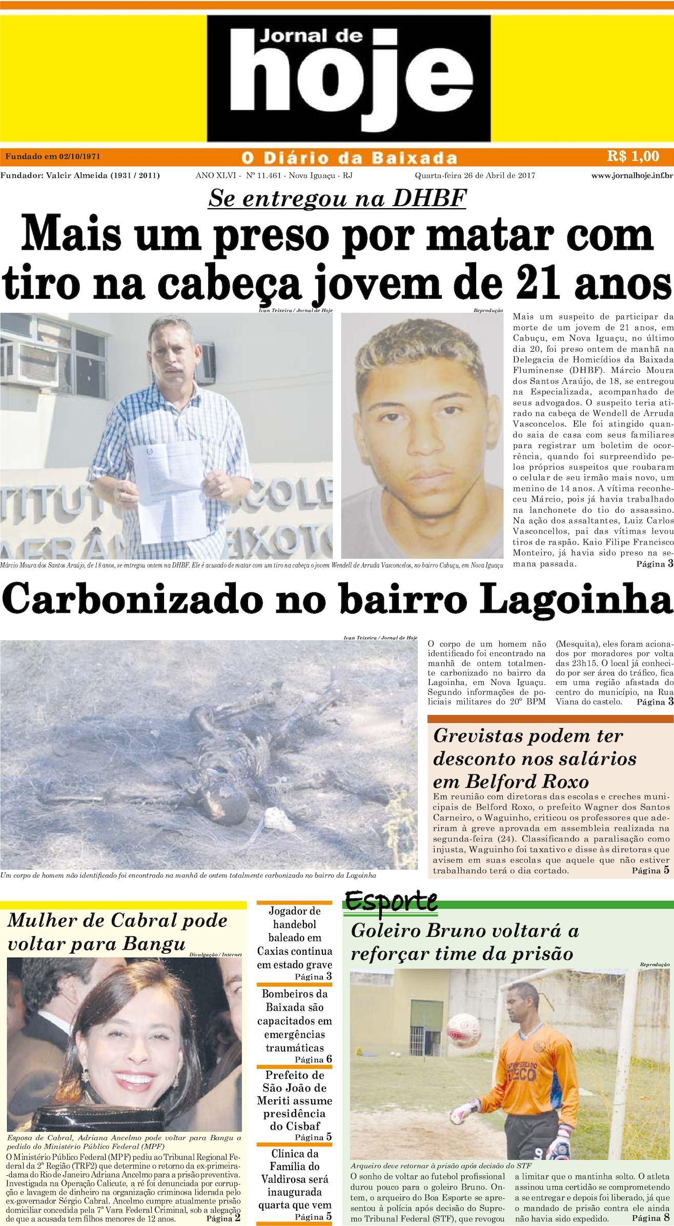 Jornal De Hoje 260417