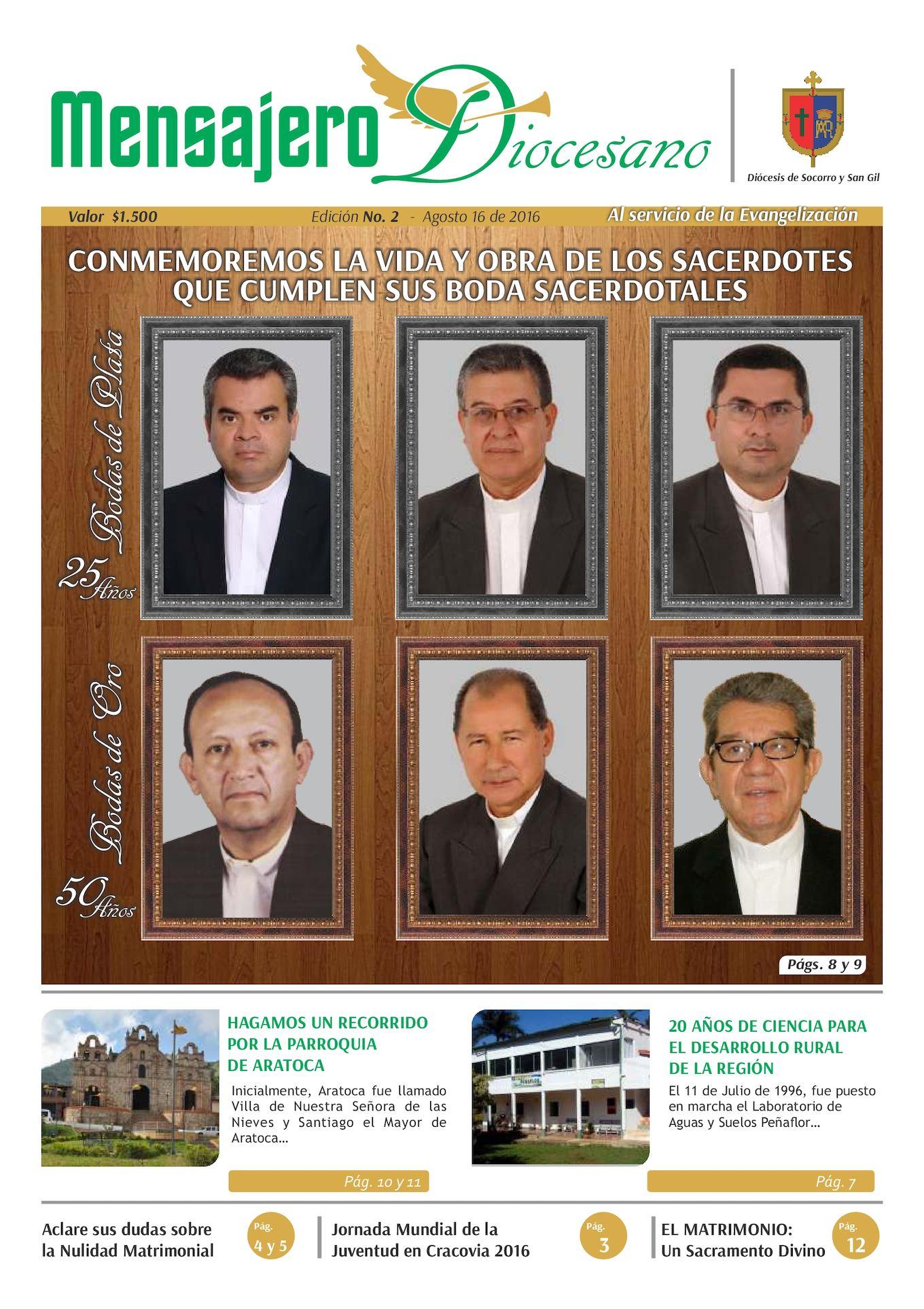 Mensajero Diocesano Edición 2