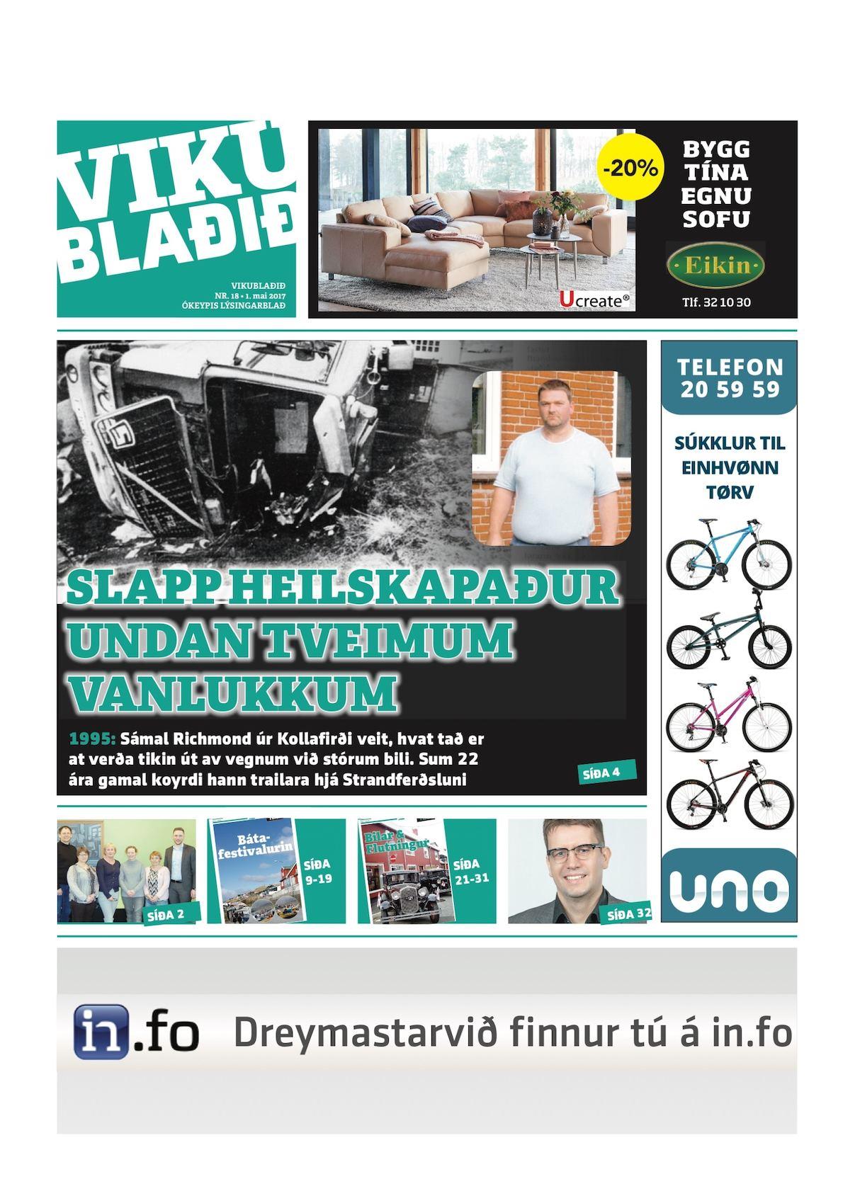 Vikublaðið 1. mai 2017