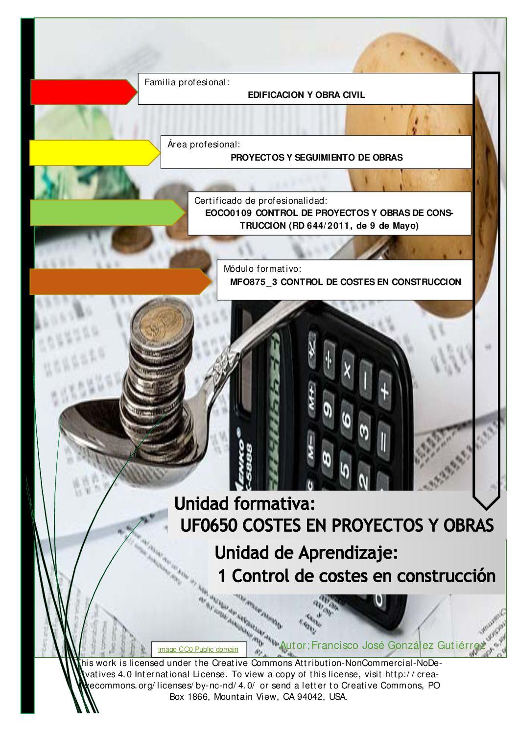Calaméo - Guia Didactica Control De Costes