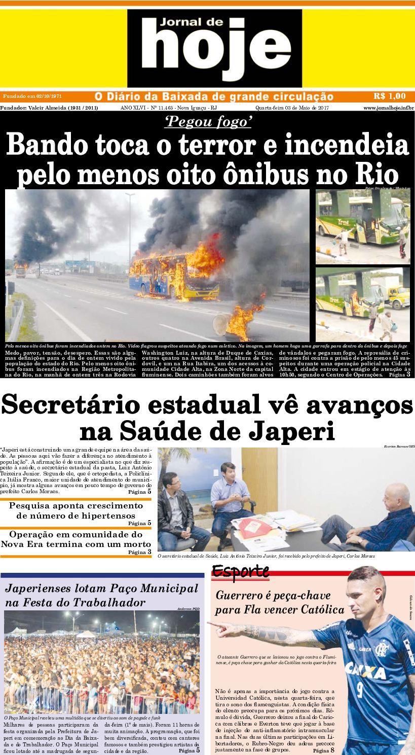 Jornal De Hoje 030517