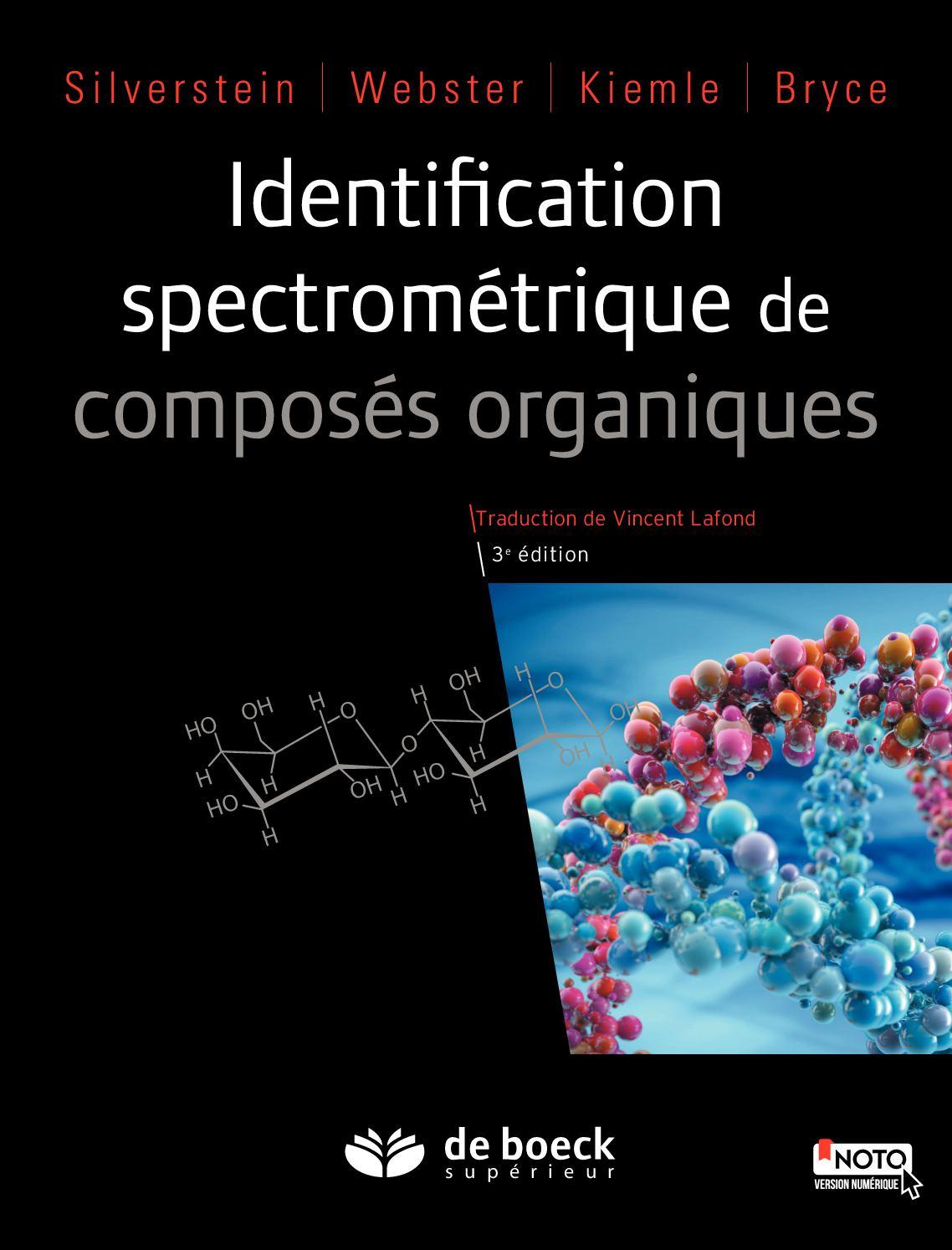 Identification spectrométrique de composés organiques - 3ème édition