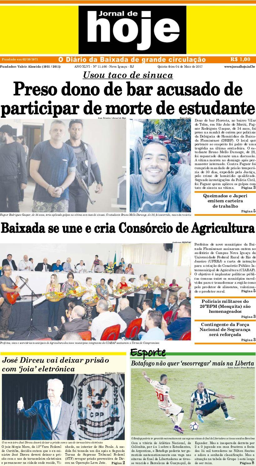 Jornal De Hoje 040517