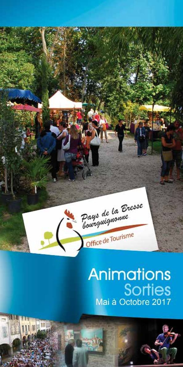 Calam o guide animations et sorties en bresse bourguignonne 2017 - Office de tourisme louhans ...