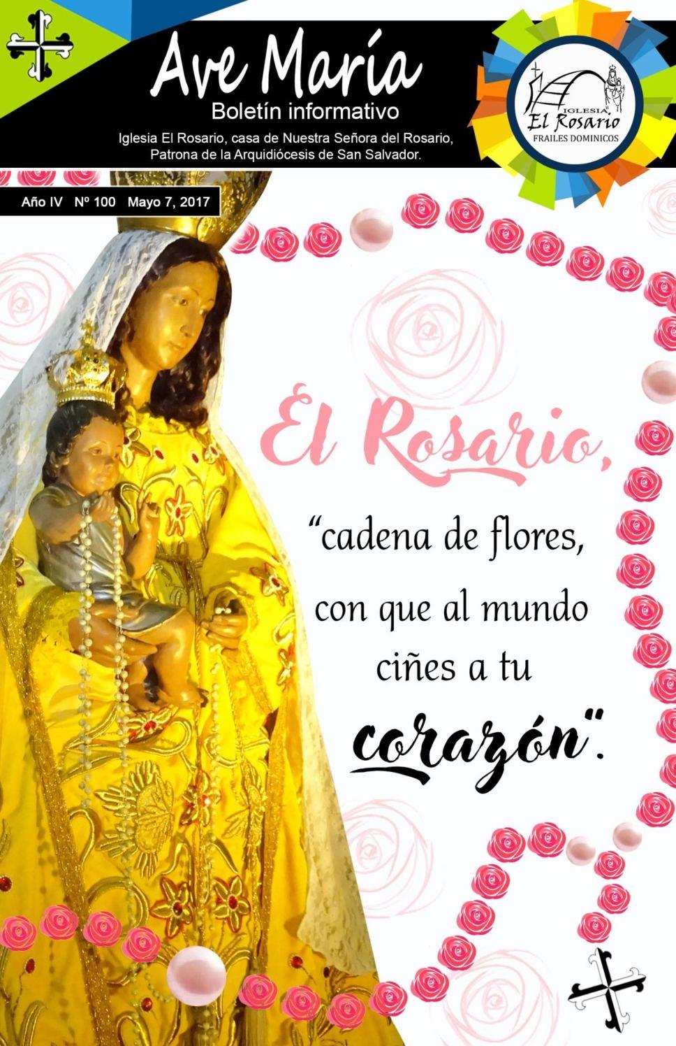 Boletín Ave María 100