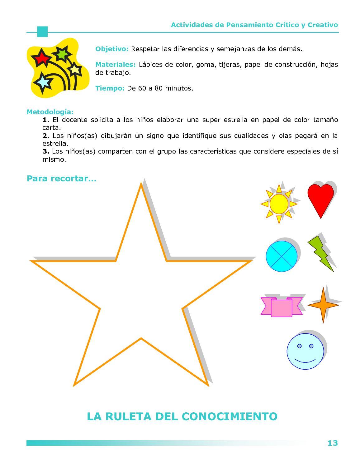 ACTIVIDADES DE PENSAMIENTO CRÍTICO Y CREATIVO - CALAMEO Downloader