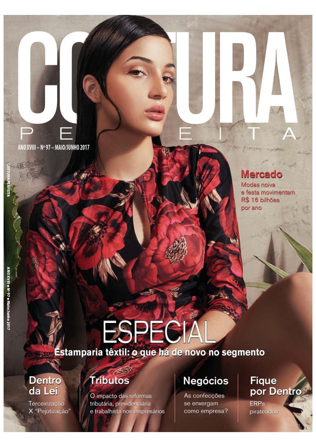 Revista Costura Perfeita Edição Ano XVIII - N97 - Maio - Junho 2017