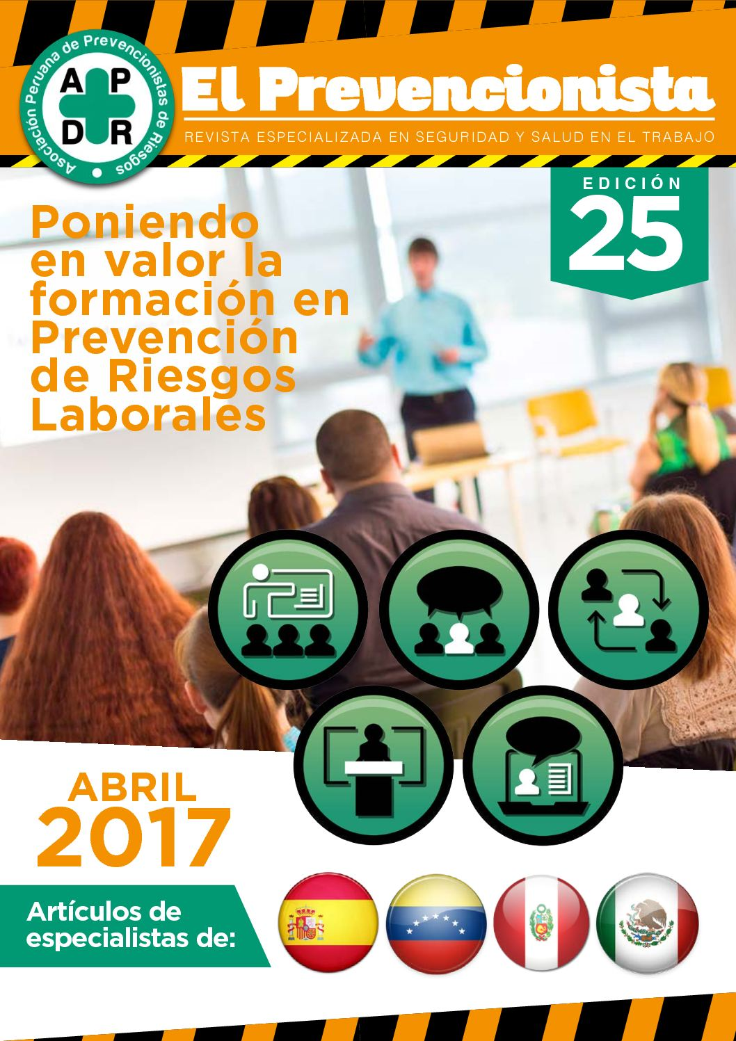 Revista El Prevencionista 25° Edición