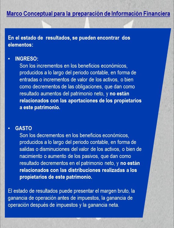 Mc Marco Conceptual Para La Preparación De Información Financiera ...