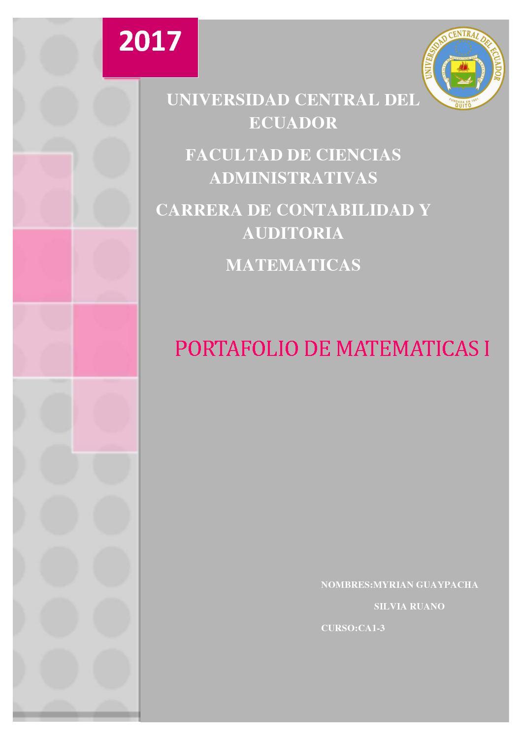 Calaméo - Trabajo De Matematicas Primer Hemi