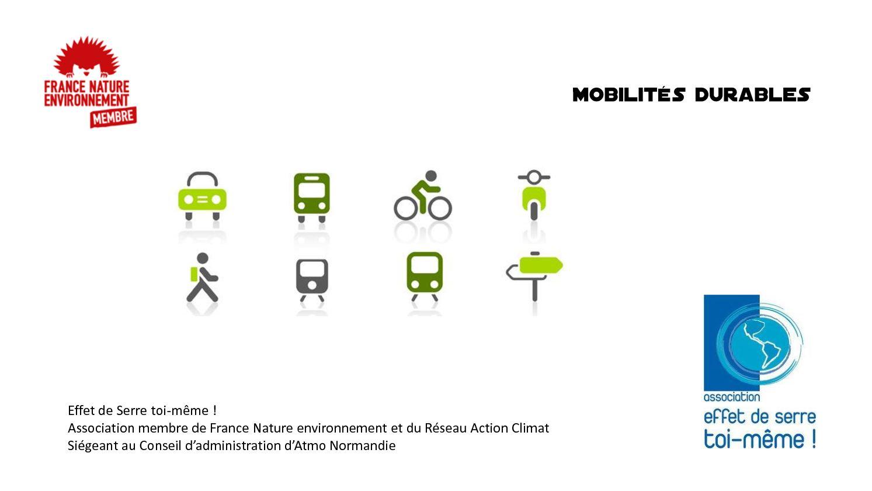 passer à la mobilité durable ici et ailleurs