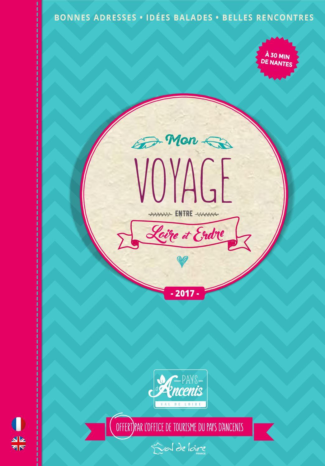 Mon carnet de voyage entre Loire et Erdre