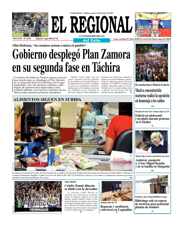 el regional del zulia 18-05-2017